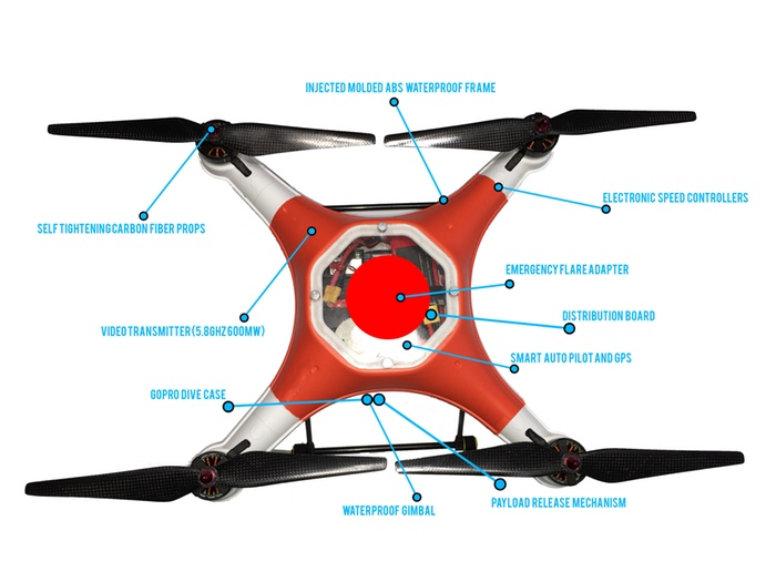 gimbal helicopter with Splash Drone Features Emergency Flares Waterproof Gimbal on Syma X8g furthermore Israeli Terminator Drones Ar 15s Idf Buying Tikad Armed Light Unmanned Aerial Vehicles as well Guillaumes Guimbal in addition 2AxisBrushlessRCDroneCameraGimbal in addition Quadrocopter Test.