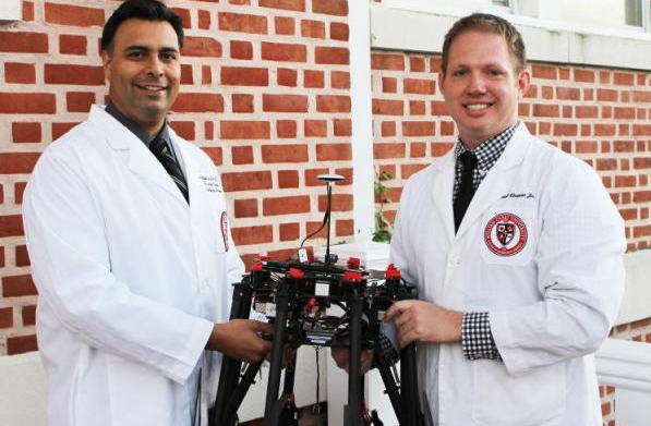 carey-medical DJI S1000+ Turns into Fully Equipped Telemedicine Drone