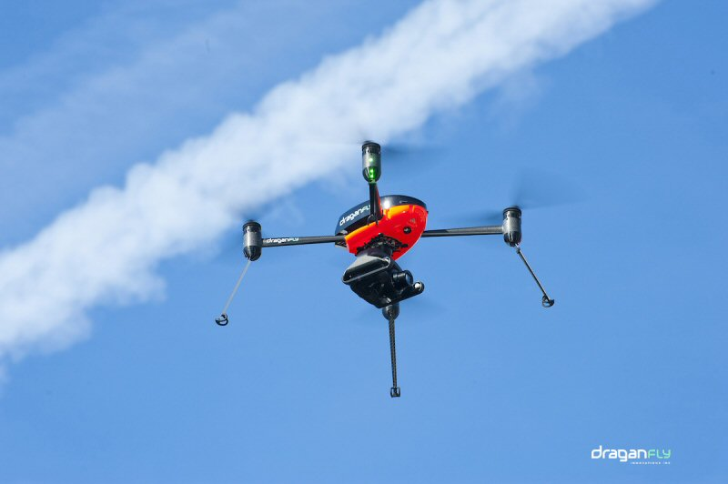 draganflyer-commander Draganfly Increases Geo-Location Accuracy of Its Drones