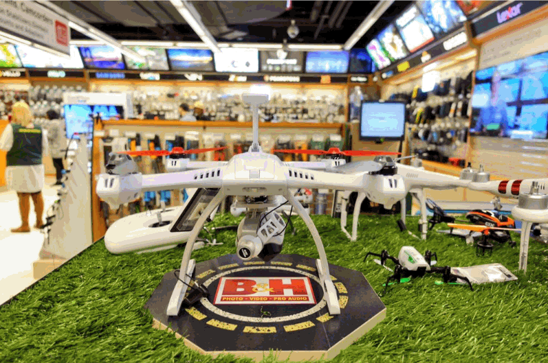 bh-drone B&H Unveils Dedicated Drone Department at Manhattan SuperStore