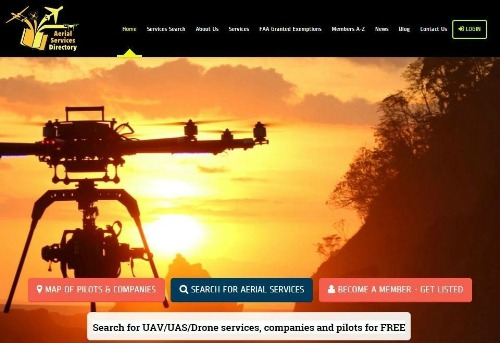 directory Company Launches Website Directory of Drones and Pilots