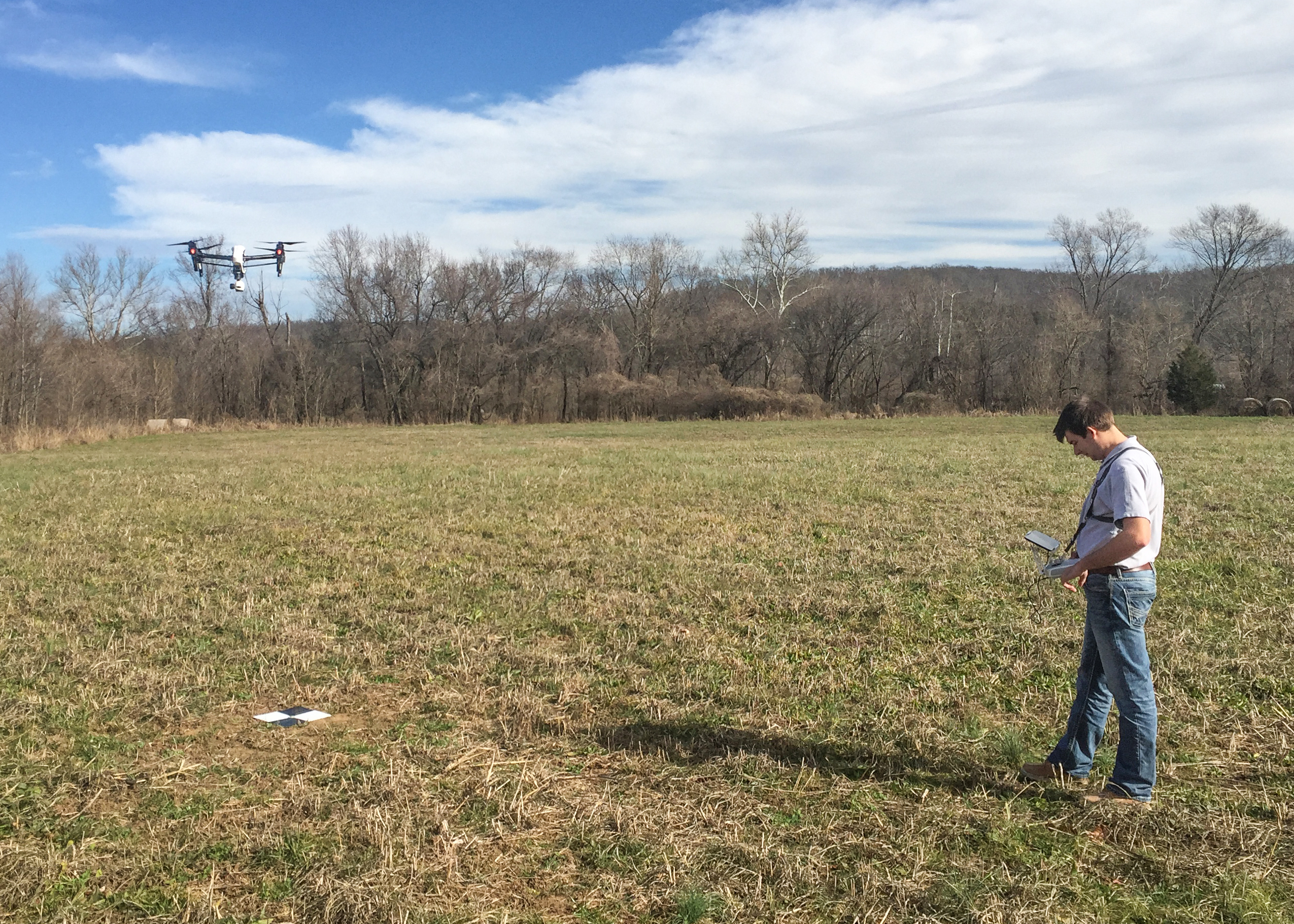 N-HansonUAStest Consulting Firm Brings Drones to Data-Collection Services