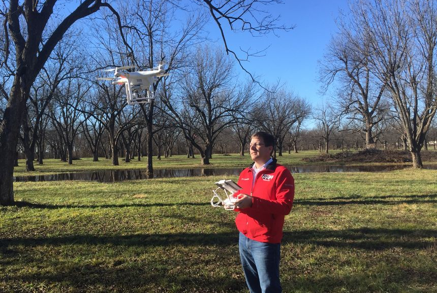 fox23-drone Tulsa Station Using FAA-Approved Drones to Enhance News Coverage