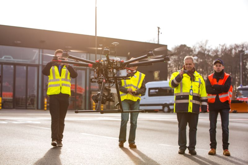 lufthansa Lufthansa Partnership Tests Feasibility of Drones at Airports