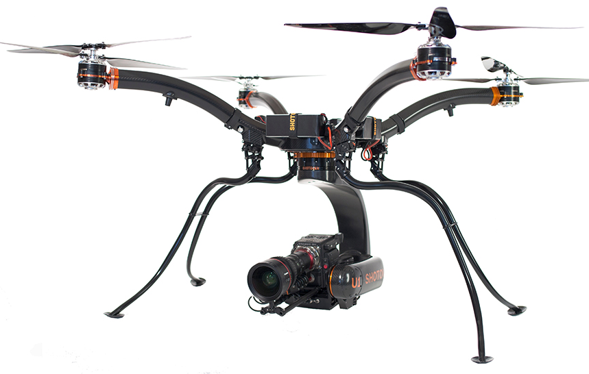 shotover SHOTOVER Debuts the U1 Cinematography Drone