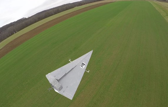 star-wars-drone Flite Test Launches 15-Foot 'Star Destroyer' Drone