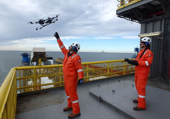 003 Sky-Futures' Offshore Drone Inspection Marks its First in Gulf of Mexico