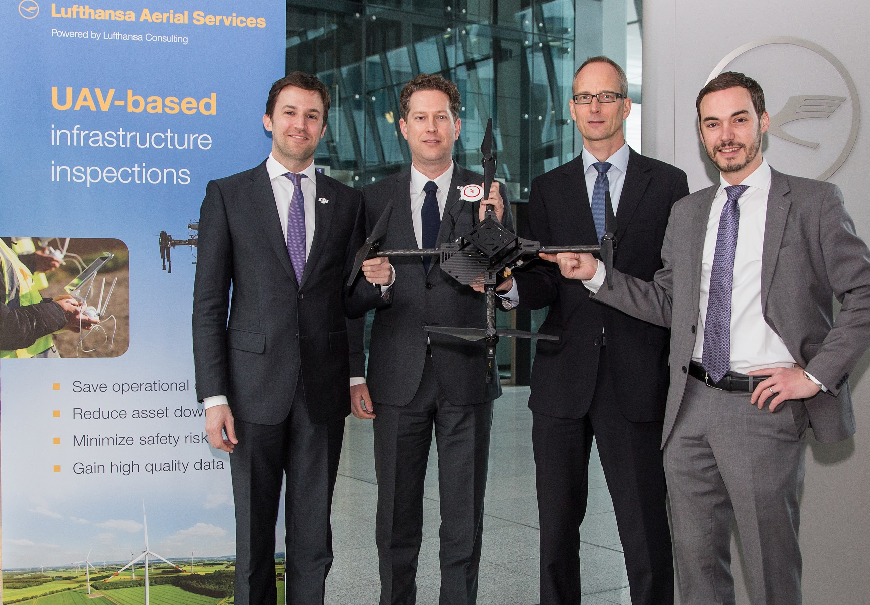 160119_DJI_LH_007 Lufthansa Joins Forces with DJI to Develop a 'One-Stop UAV Shop'