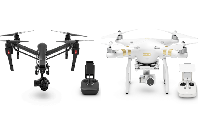 dji-new-drones New from DJI: the Inspire 1 Pro Black, the Phantom 3 4K