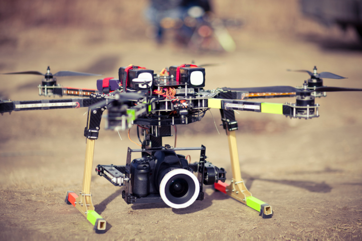 drone-with-big-camera UAVUS Offering Gold Memberships for UAV Photographers, Videographers