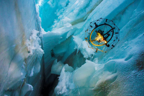 glacier Drone Flight in Swiss Alps Glacier Offers Promise for Life-Saving Missions