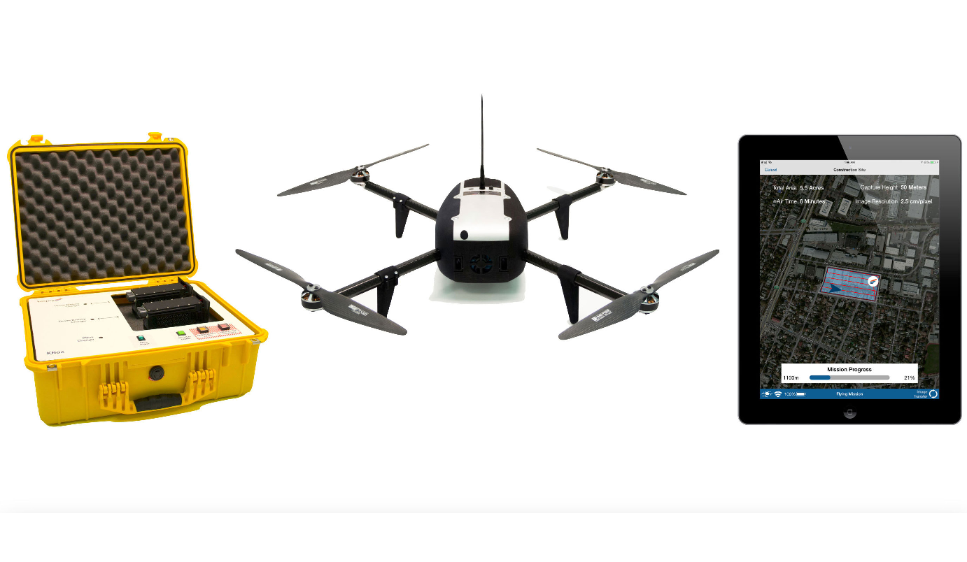 kespry-drone-system-2 National AEG Firm Woolpert Goes with the Kespry Drone System