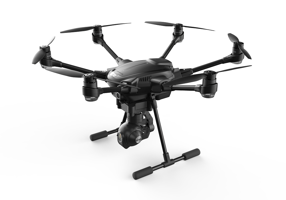 yuneec-typhoon-h Yuneec Welcomes New Six-Rotor Drone to Typhoon Series