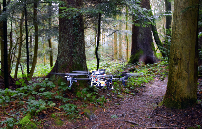 deep-learning-drone-2 Drones with 'Powerful Brains' Trained for Complex Rescue Missions