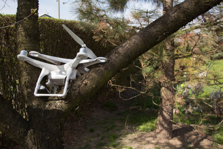 stuck-in-tree DJI Now Offering Protection Plan for UAV Owners