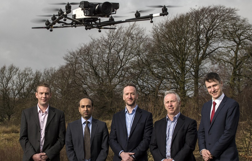 Clydesdale-Bank-and-Cyberhawk-50 Scottish Drone Inspections Provider Plans Expansion into U.S.
