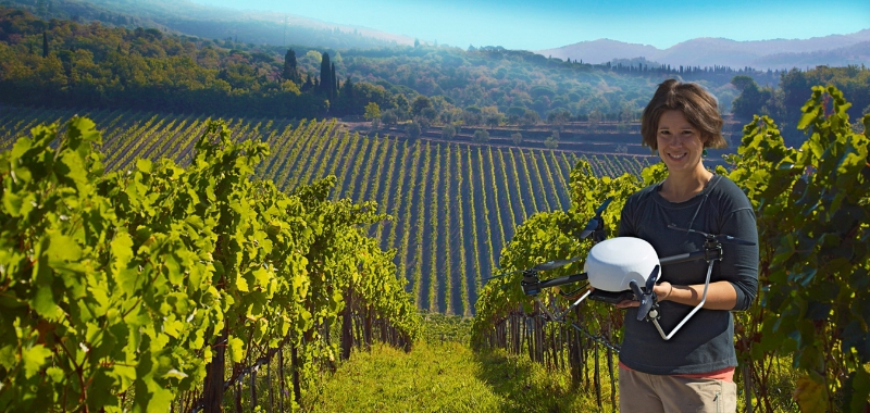 349815 SkySquirrel Inks $1M to Advance Drone-Based Tech for Vineyard Health