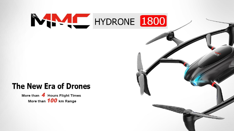 353041 Hydrogen-Fueled UAS Launched by MicroMultiCopter Aero Technology