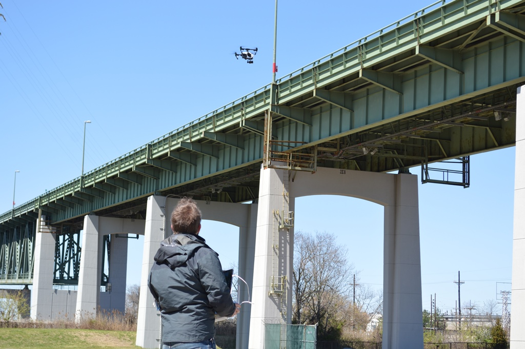 DMBInspect_uas1 Delaware River and Bay Authority Tries Out UAS for Bridge Inspections