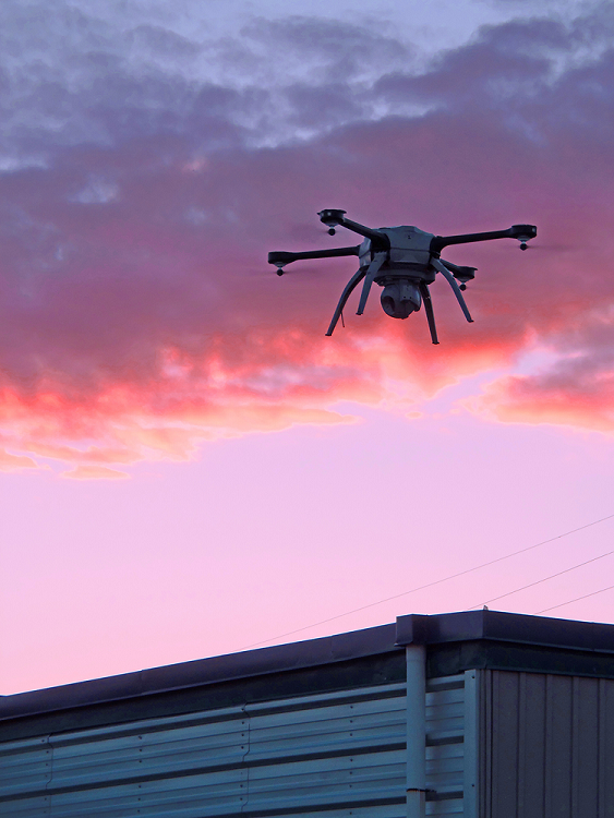 aeryon-skybeam Federally Approved SkyBEAM Drone to Help 'Set the Standard' for Nighttime Inspections
