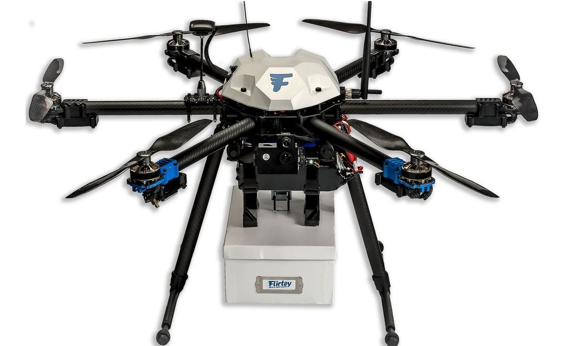 flirtey-drone Smithsonian National Air and Space Museum Adds Flirtey Drone