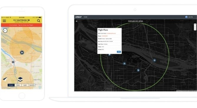 363384 AirMap Now Offers iOS App for UAS Operators
