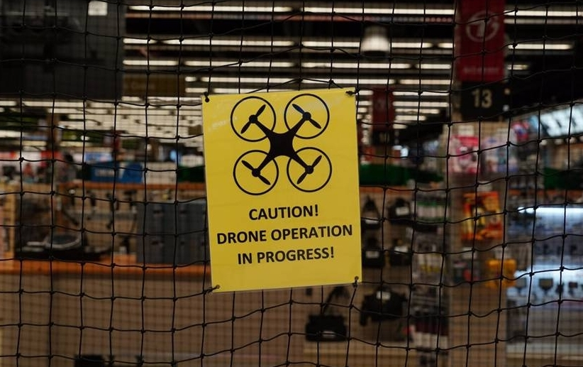 drone-cage B&H Adds Drone Testing Cage to Manhattan SuperStore