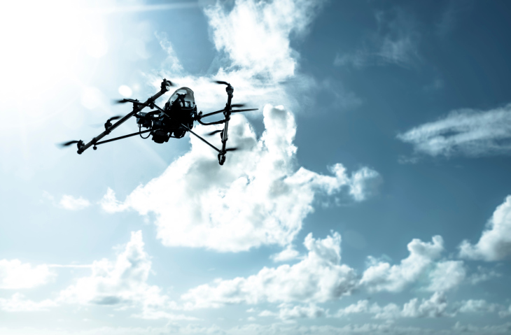 drone-fake-clouds NBAA Offers Guidance on sUAS Integration for Flight Departments