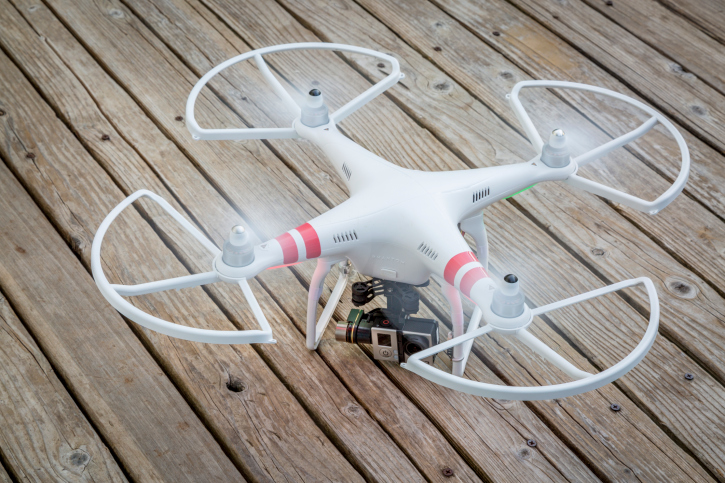 phantom-with-guards Penn College Adds Drone Course to Workforce Development Program