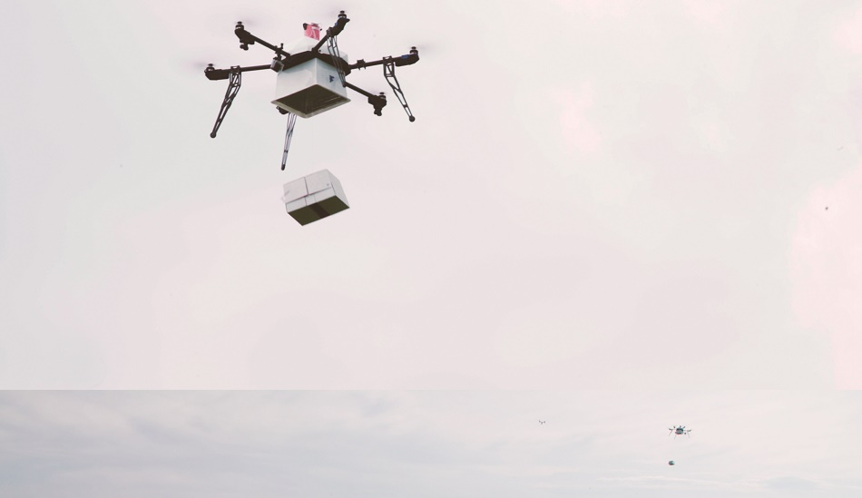 Flirtey-Ship-to-Shore-delivery Flirtey's Ship-to-Shore Drone Delivery Goes Off Without a Hitch