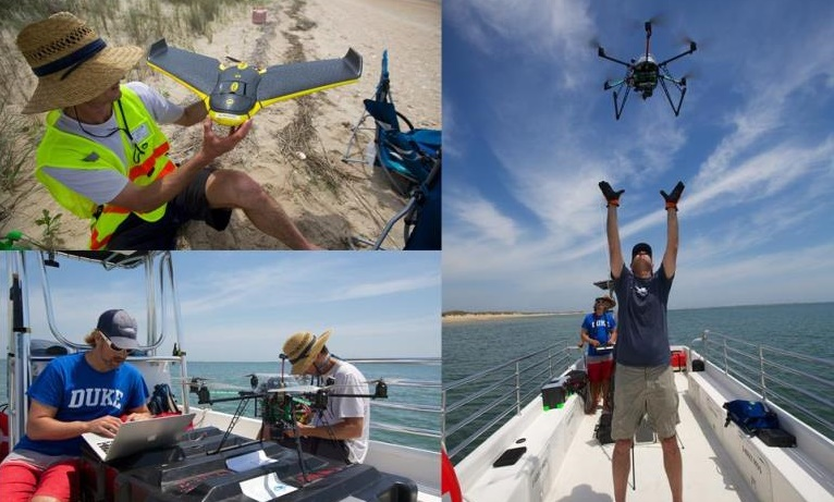 Photo-Credit-Duke-Marine-Lab-UAS-686 Drones Monitoring Sea Turtles at North Carolina Seashore
