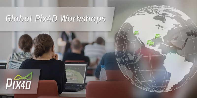 WORKSHOP_WORLDWIDE_NEWSLETTER_header Pix4D Launches Global Workshops for Drone Mapping
