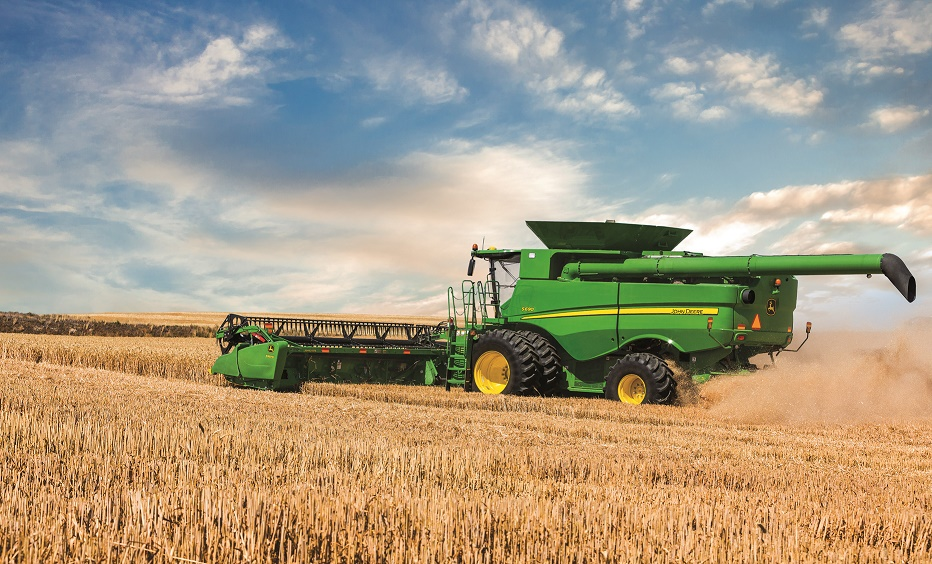 S-SeriesCombine John Deere Software Integrates with Agribotix Drone Ag Platform
