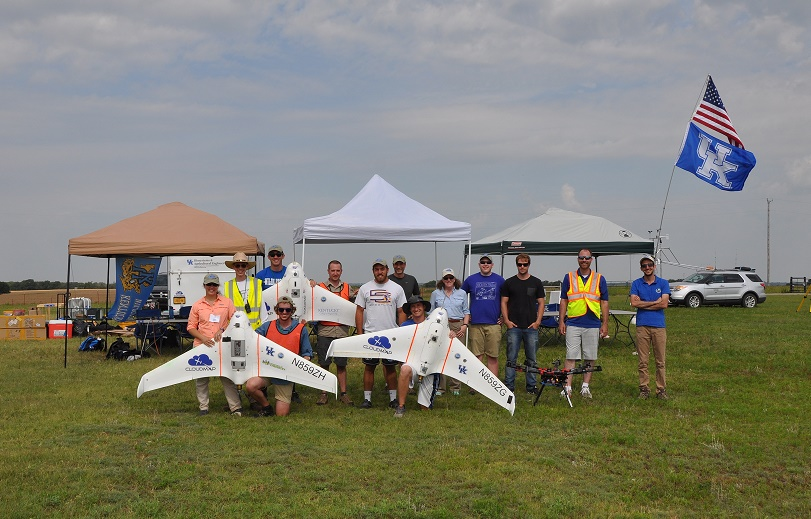 dsc_0416 100 Researchers Kick off First Round of UAS Weather Forecasting Project