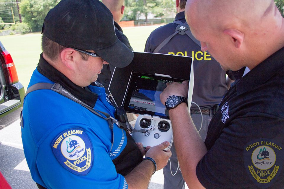 13906664_1276516982359380_7411629748923638263_n South Carolina Police Department Welcomes Donated DJI Drone