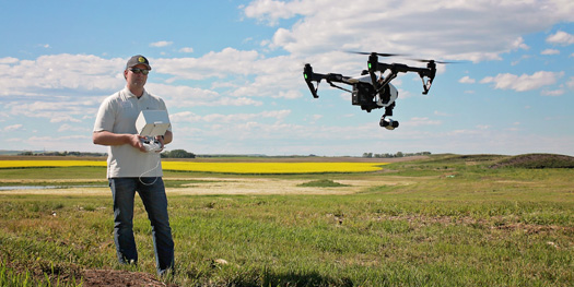 20160802-Drone This Year, Alberta County Brings in Drone to Fight Noxious Weeds