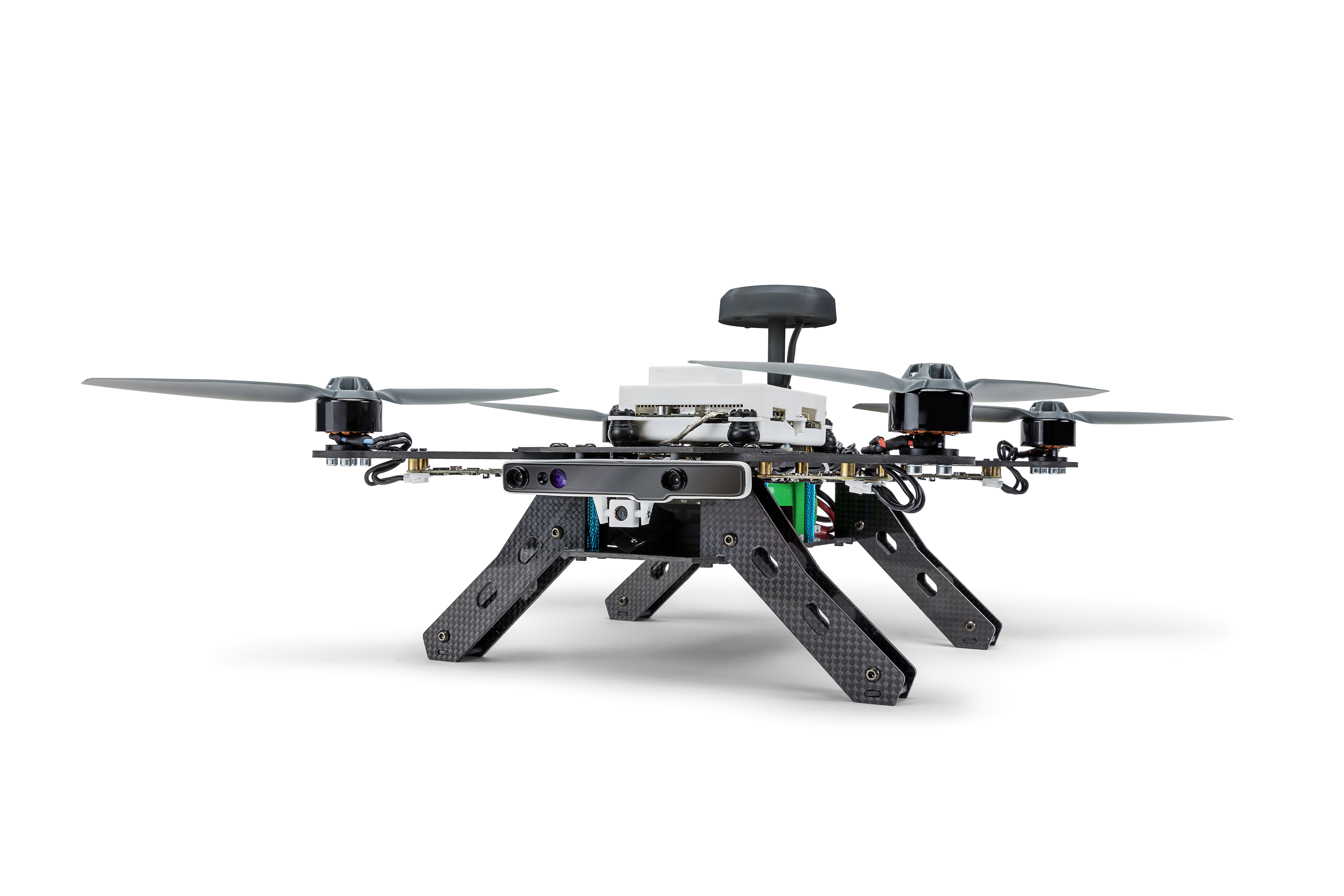 DRONE-ALONE Intel's Aero Drone Offers Mixed Bag of New Tech, Including AirMap