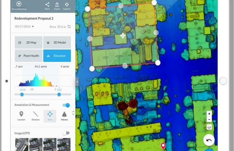 MOD-52276_DroneDeploy-Elevationmapexample DroneDeploy Snares $20M Funding from Silicon Valley Investor