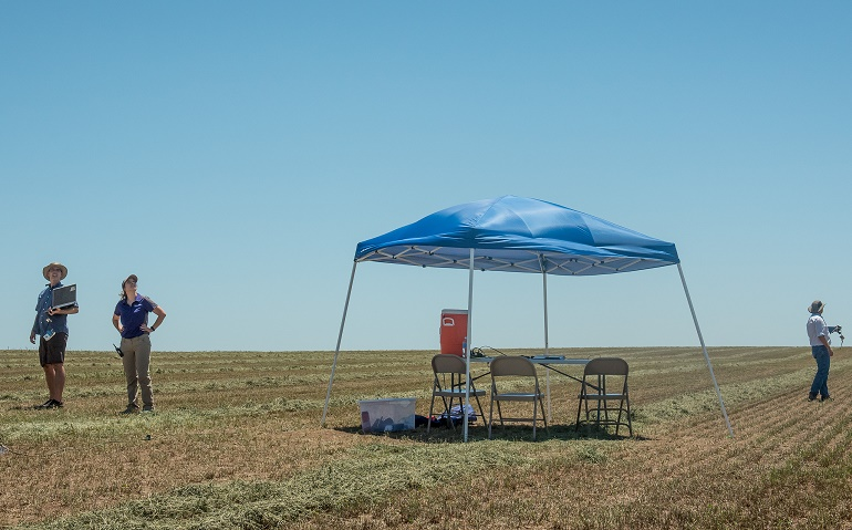 ameyer Kansas State Polytechnic, PrecisionHawk Get to Work on EVLOS Drone Ops