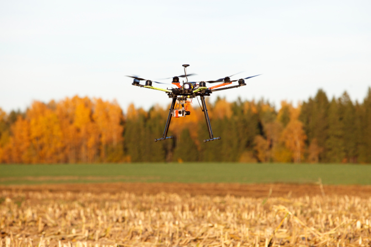 drone-over-orange-field New Mexico State University Rolls Out Drone Workshop