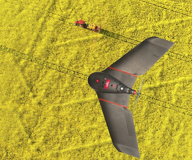senseFly's New Ag Drone Covers 500 Acres in Under an Hour