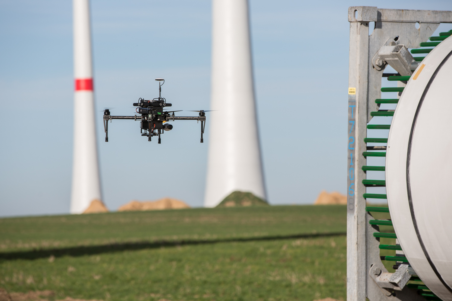 Lufthansa Forms UAS Partnership with Wind Power Company