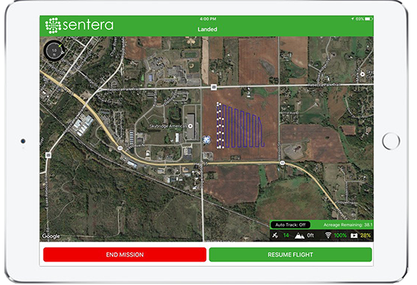 Battery-Swap Sentera Announces New Battery-Swap Feature for UAV Precision Ag