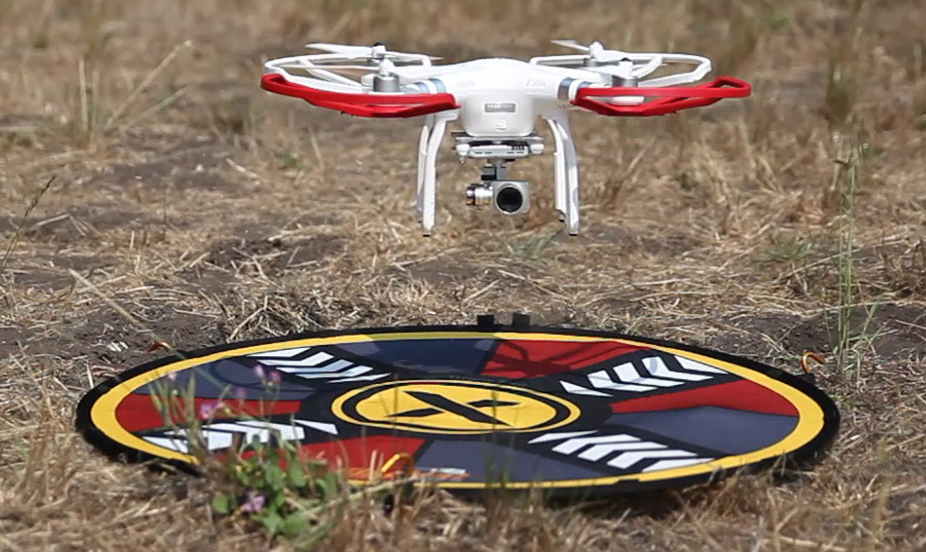 drone-pad FlatHat Introduces Collapsible Drone Pads, Lighting Kits