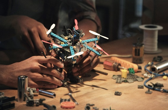 You Can Now Make and Fly a Drone Out of Legos - Over and Over Again