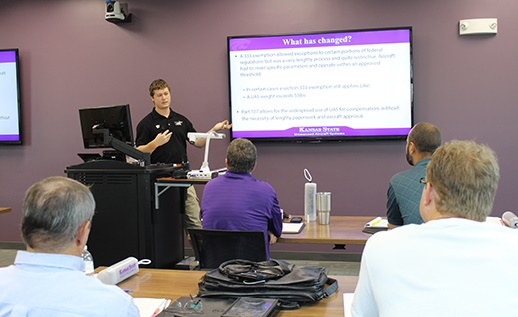 shortcourse-sm Commercial Drone Pilot Training Kicking off at Kansas State Polytechnic
