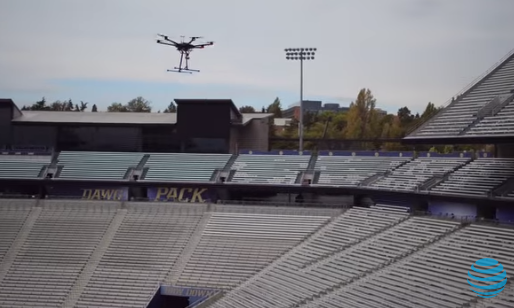 att AT&T Uses UAS to Get You Ready - and Connected - for Some Football