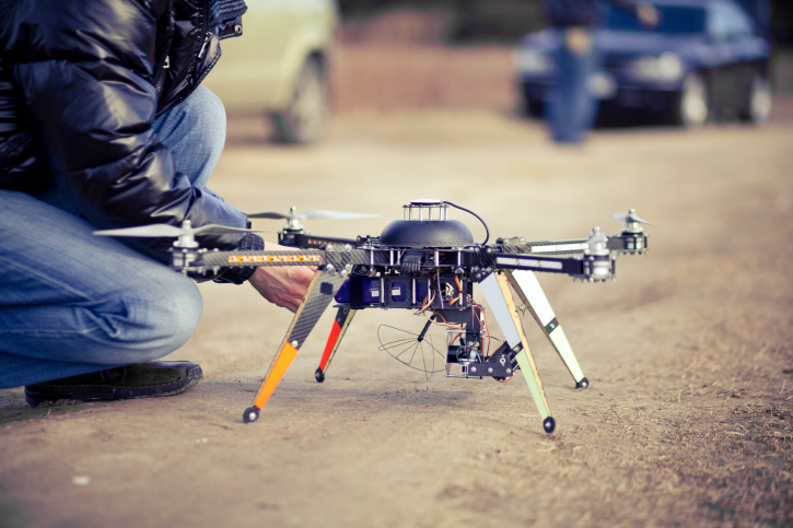 drone-with-person Drone Sense-and-Avoid Competition Launched for November's UTM Convention