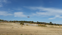 gI_107050_DraganflyInnovations_DraganflyerWithCorningCamera Draganfly Testing Mini Hyperspectral Camera with its UAVs