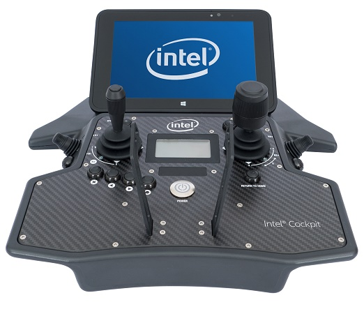 intel-cockpit Intel Unveils the New Falcon 8+ Octocopter